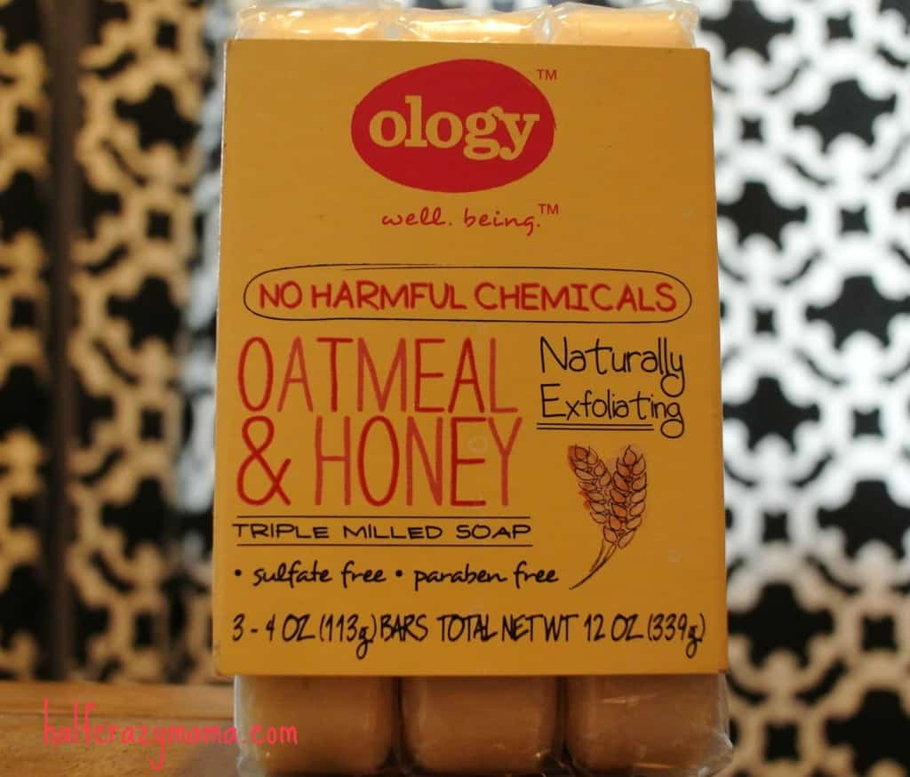 ology oatmeal &honey soap bars