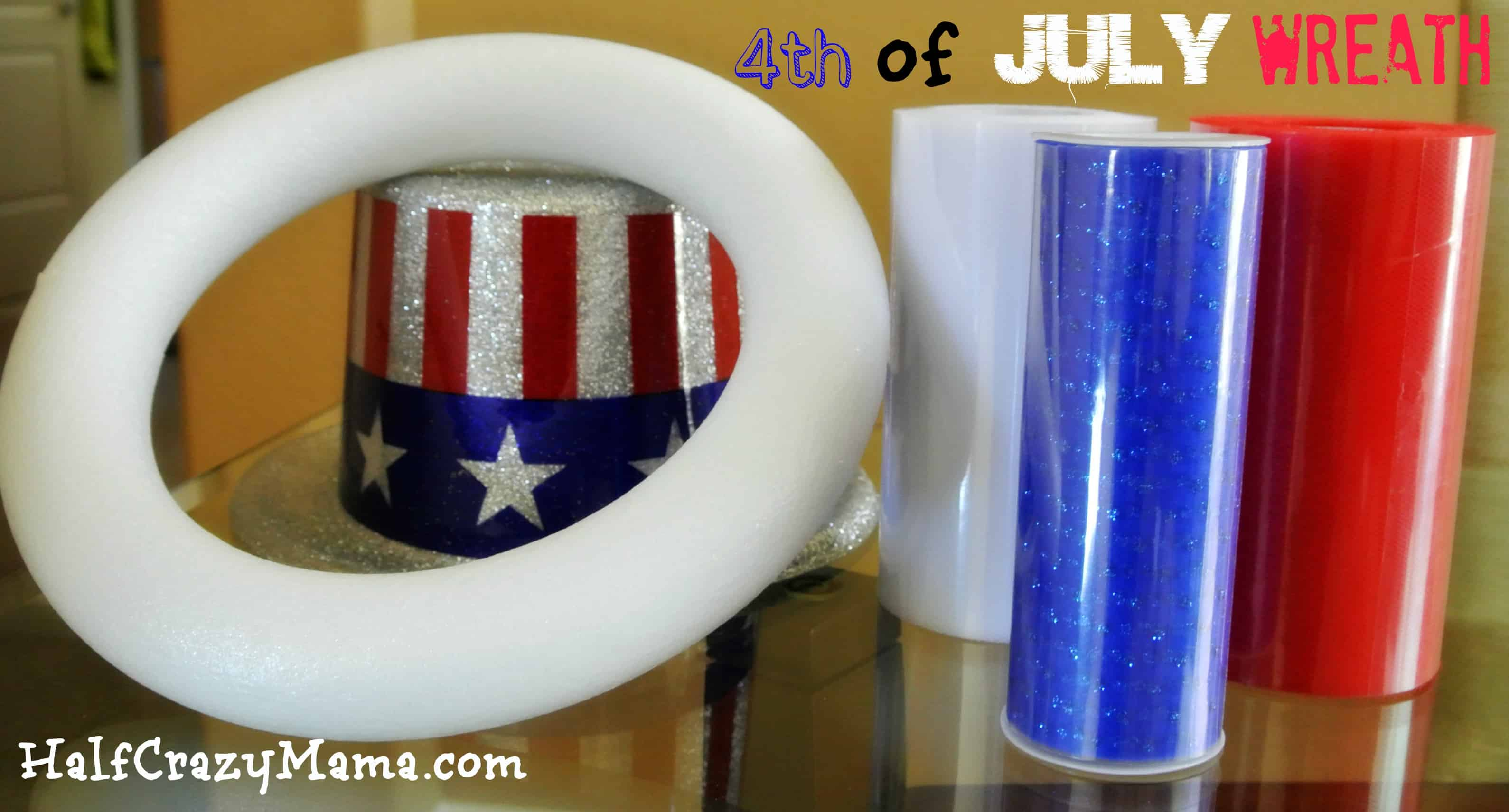 4th july wreathe pieces