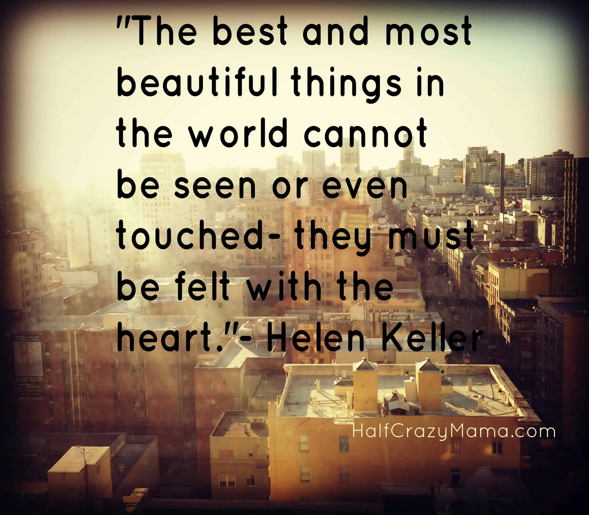 Helen Keller city scape