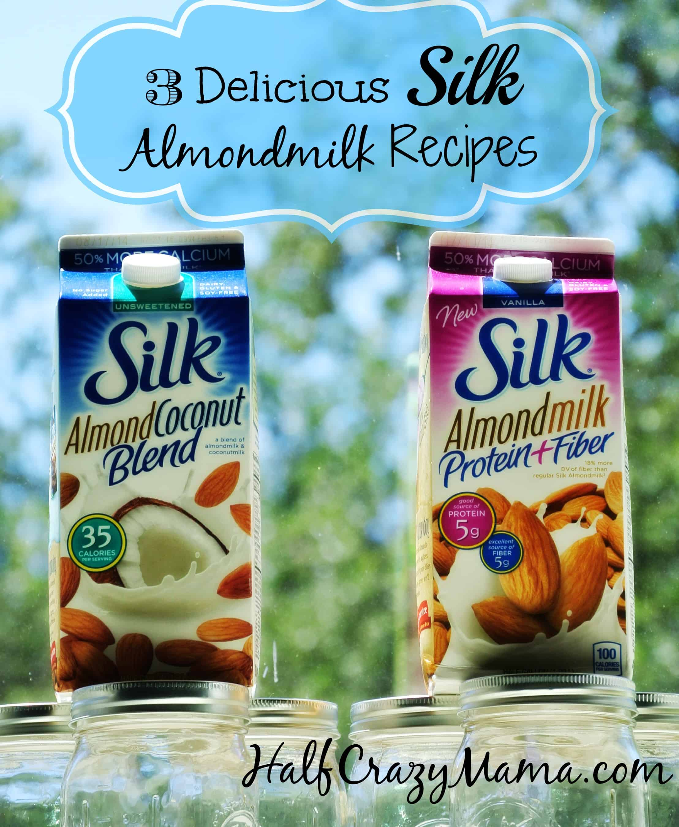 Silk Almondmilk recipes