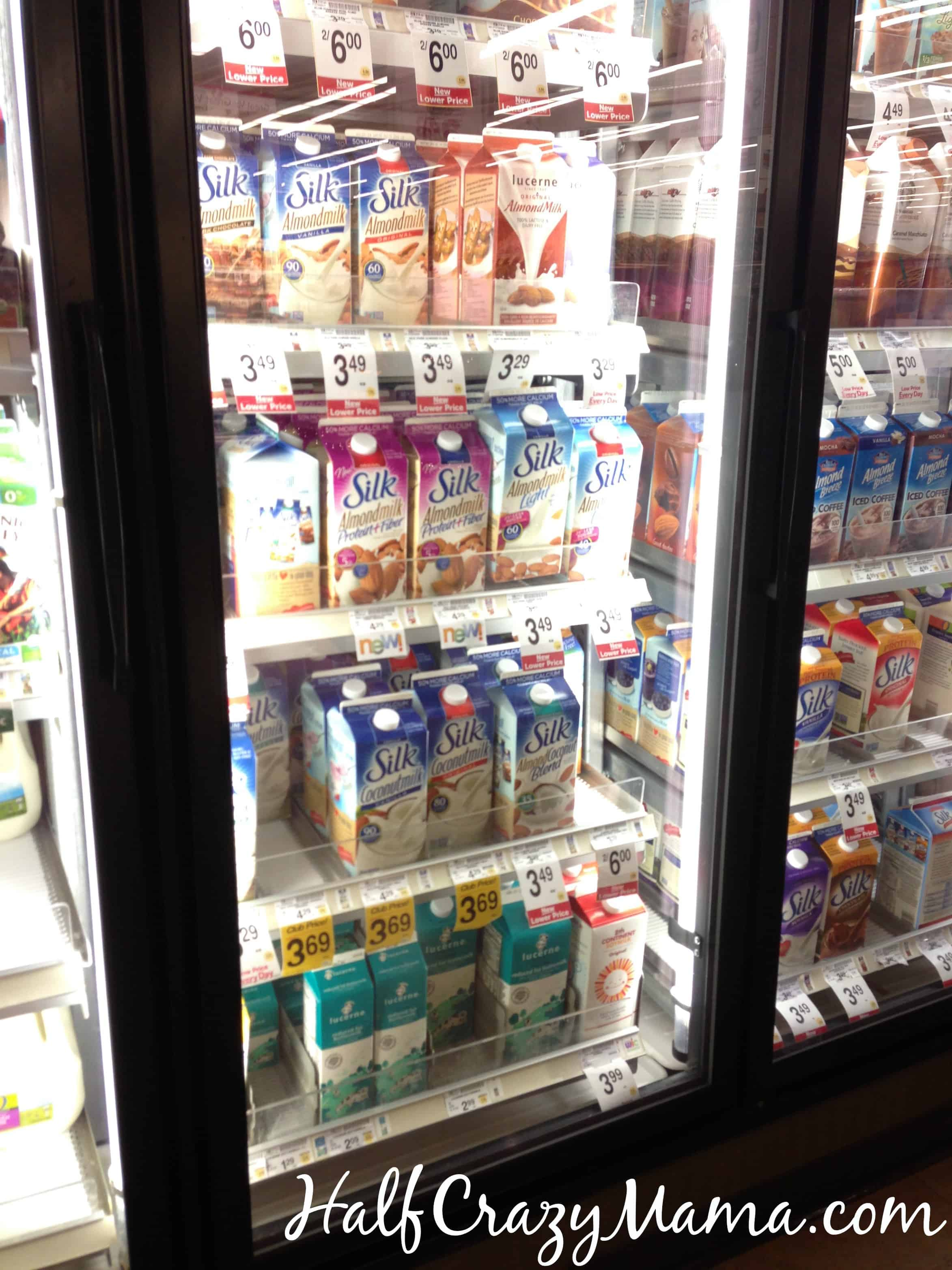 silk almondmilk safeway