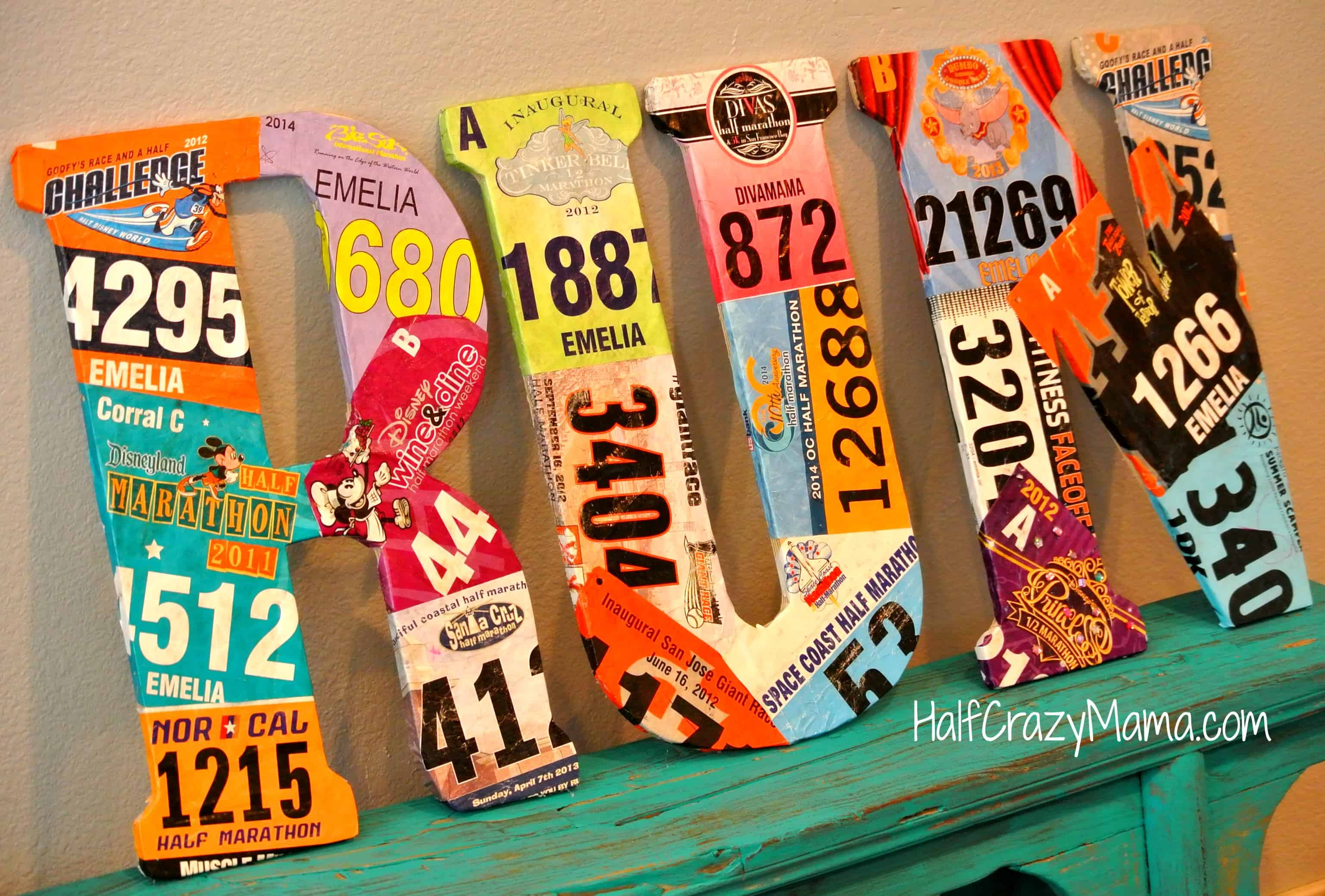Race Bib Craft