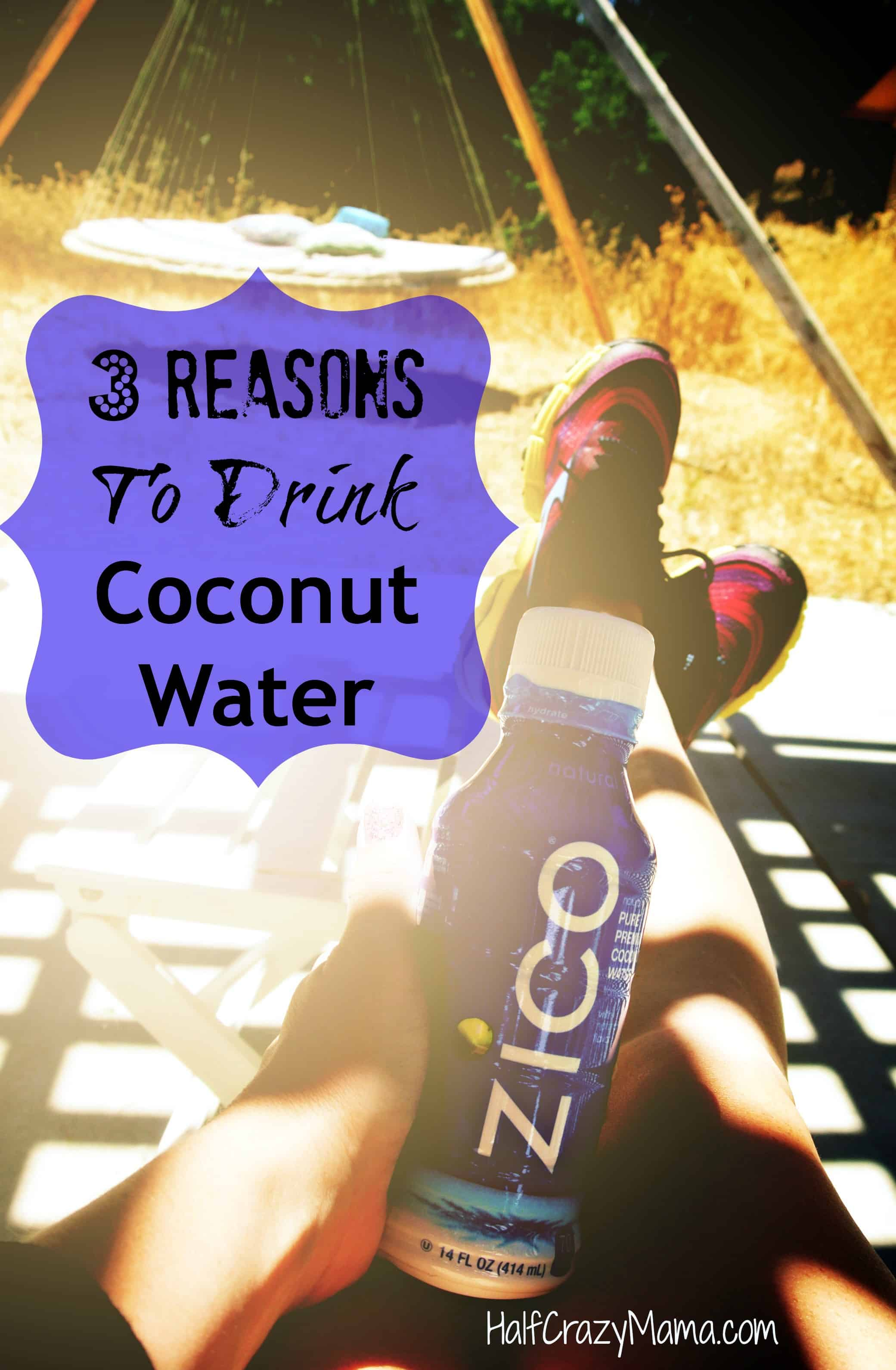 Zico 3 reasons to drink coconut water