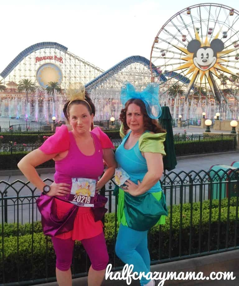 evil stepsisters costume  sc 1 st  Half Crazy Mama & Disneyland Half Costumes u2022 Half Crazy Mama
