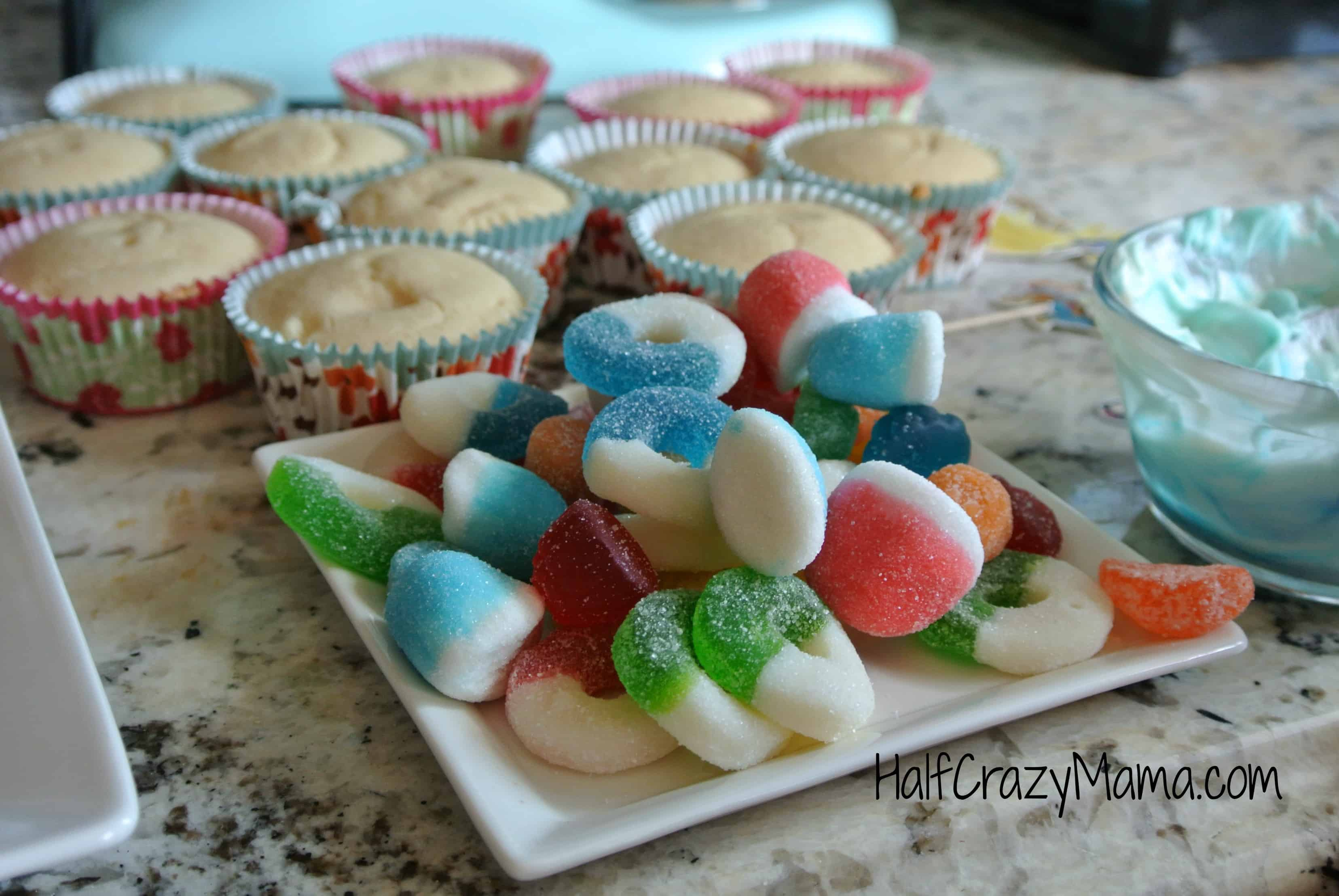 turtle cupcakes candy