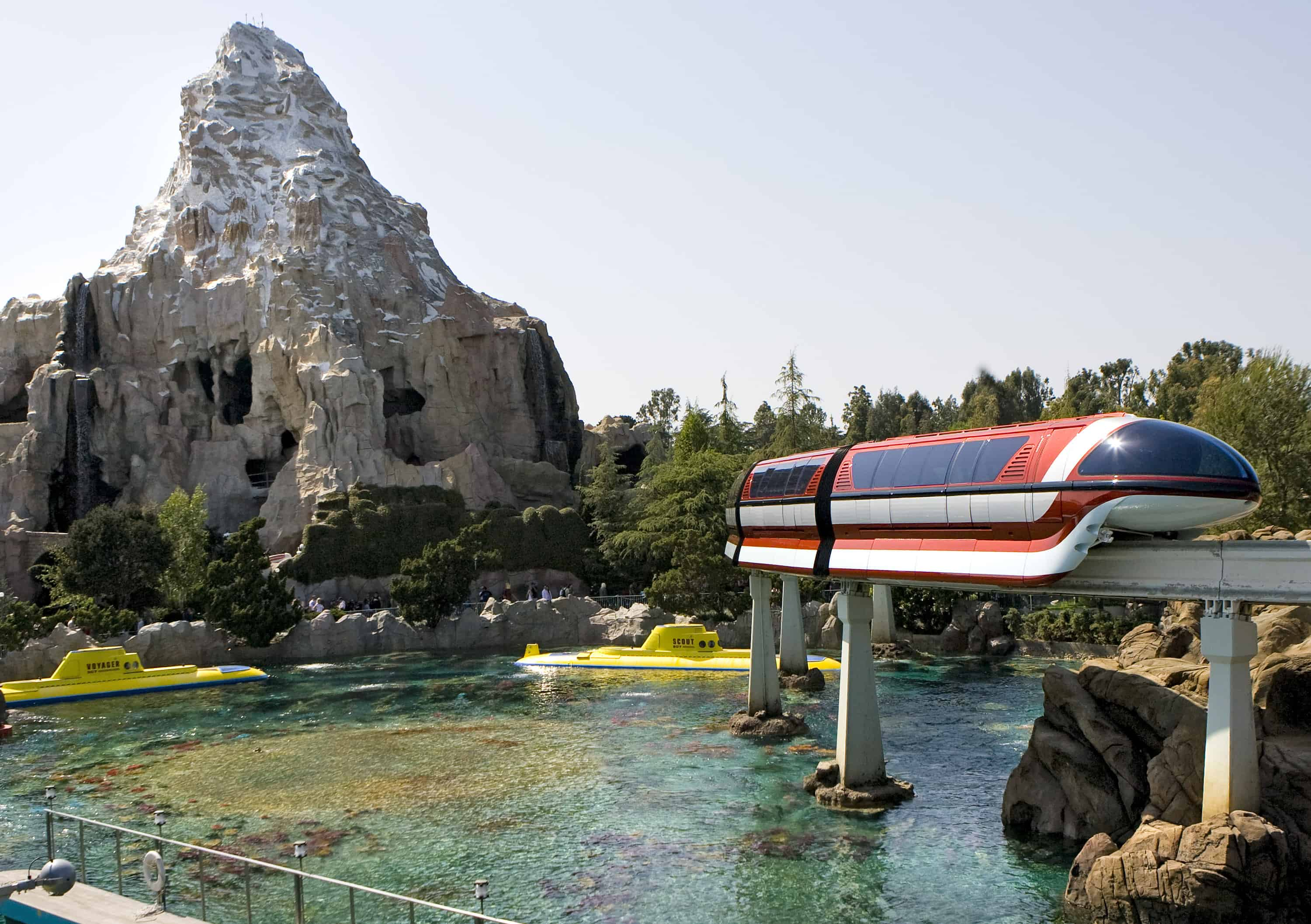 Disneyland Monorail Mark VII