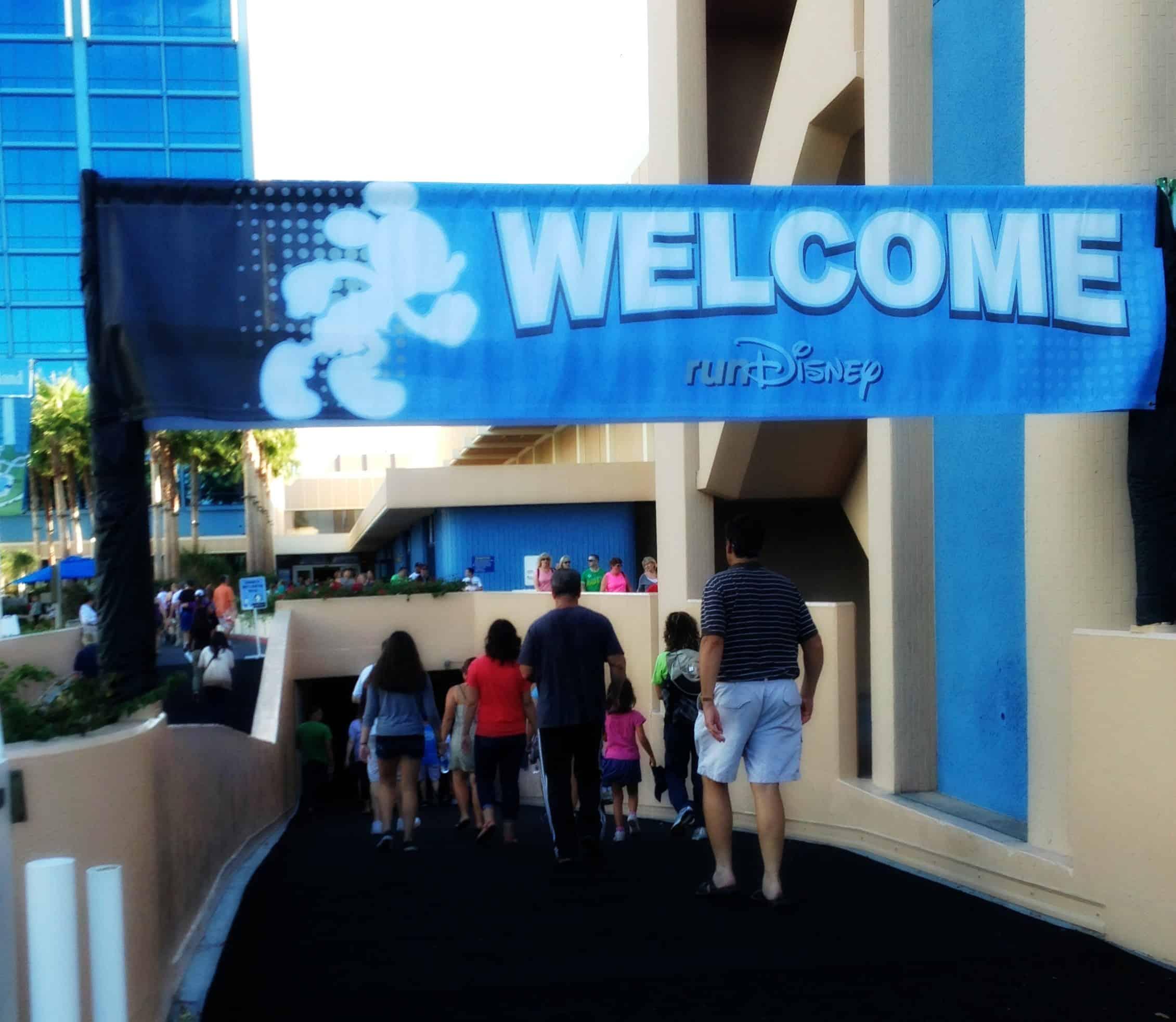 Disneyland Half expo
