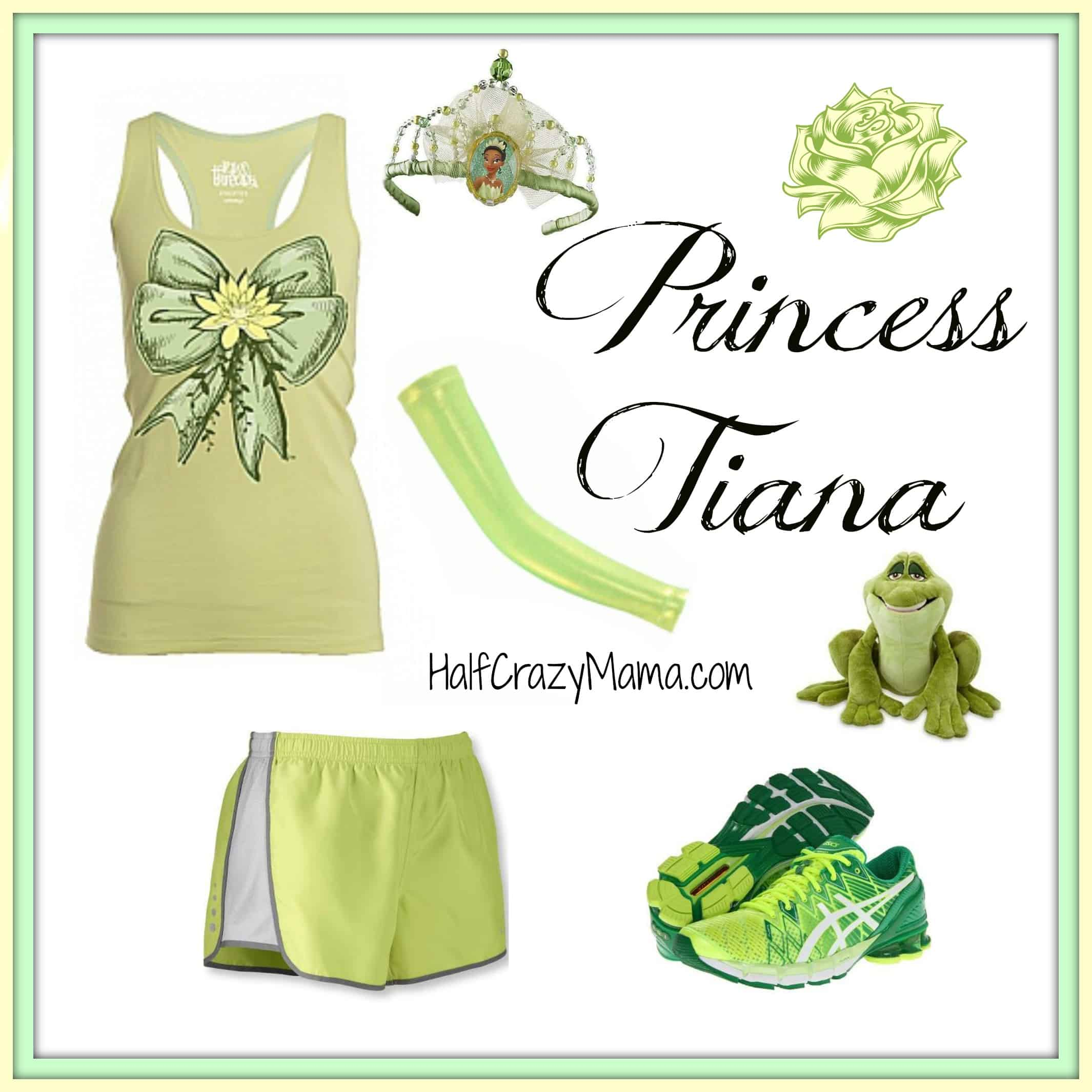 Princess Tiana run costume
