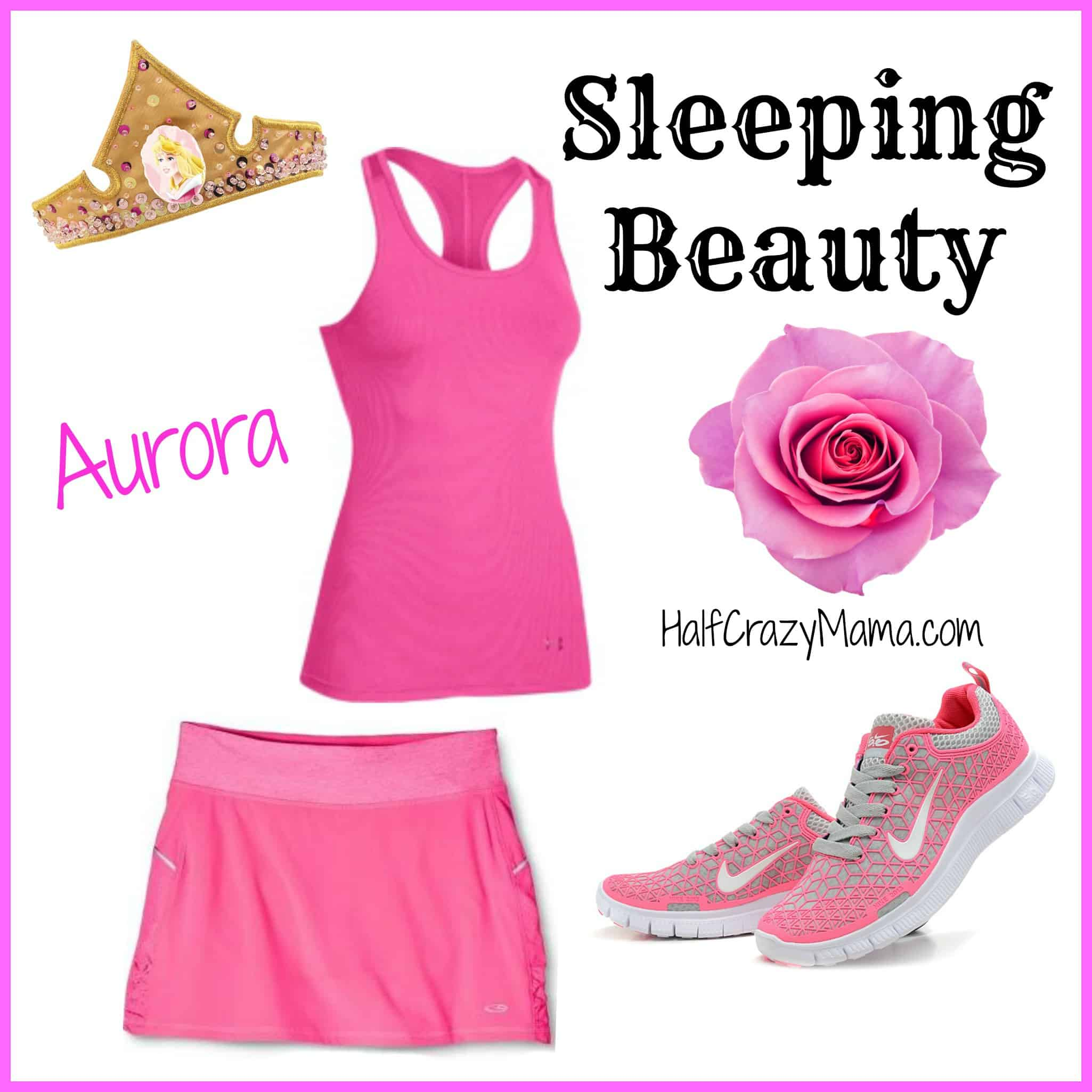 Sleeping Beauty run costume