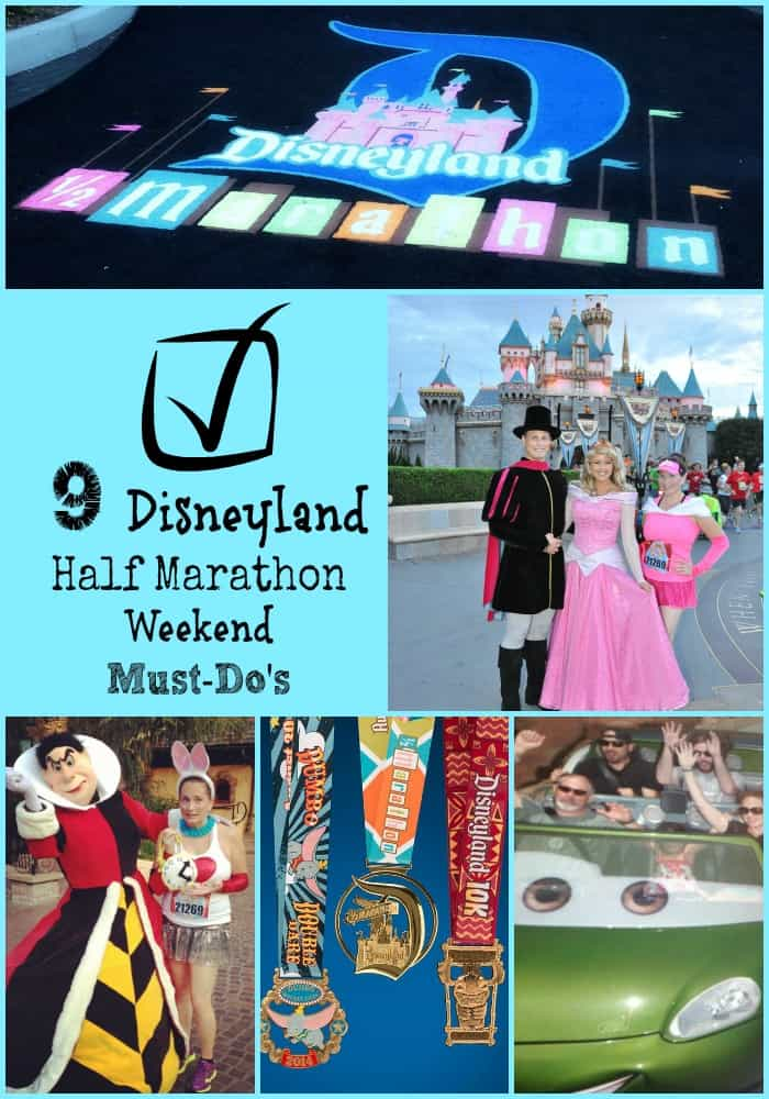 disneyland half marathon must do's