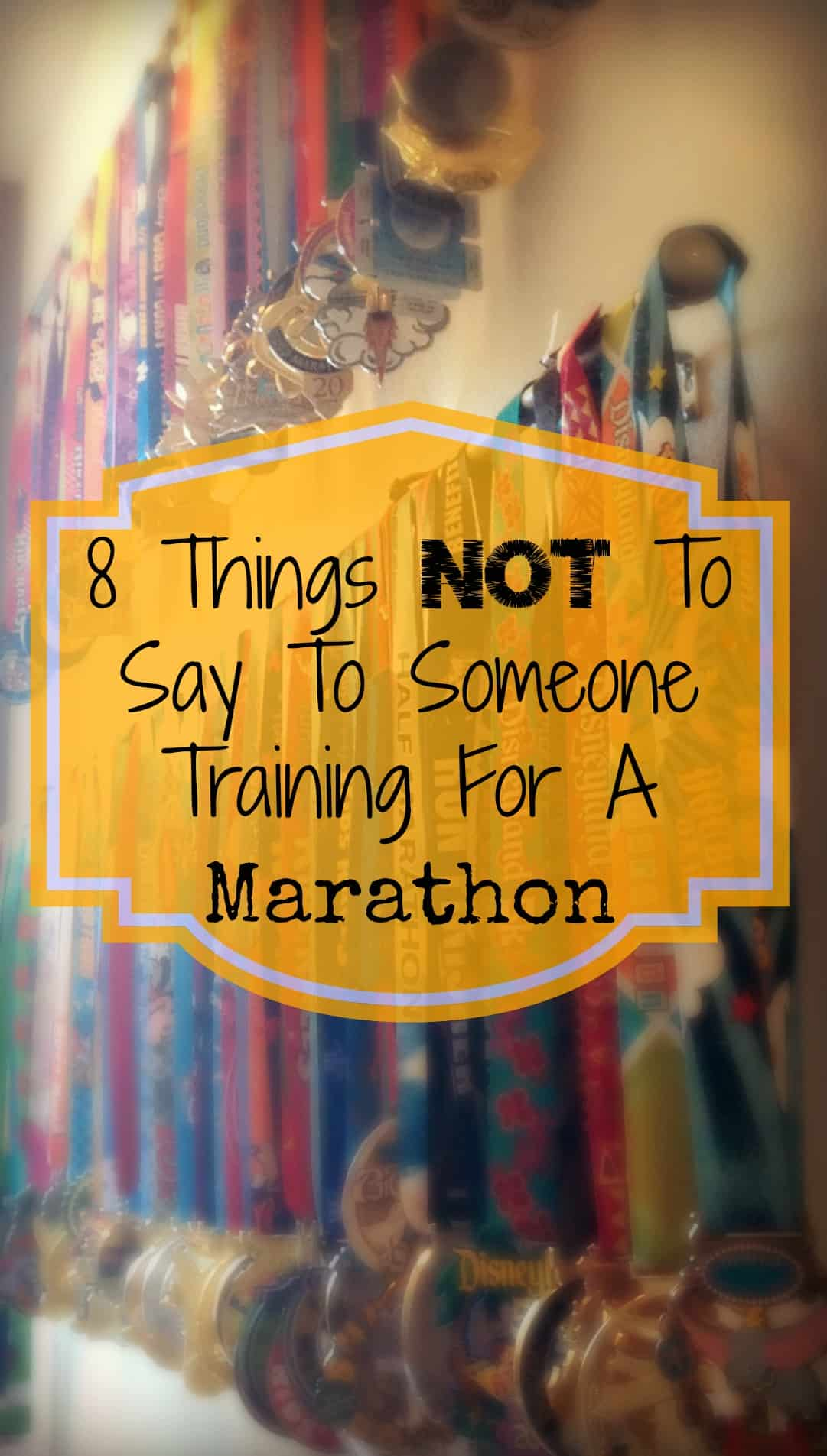 8 things not to say to someone training for a marathon