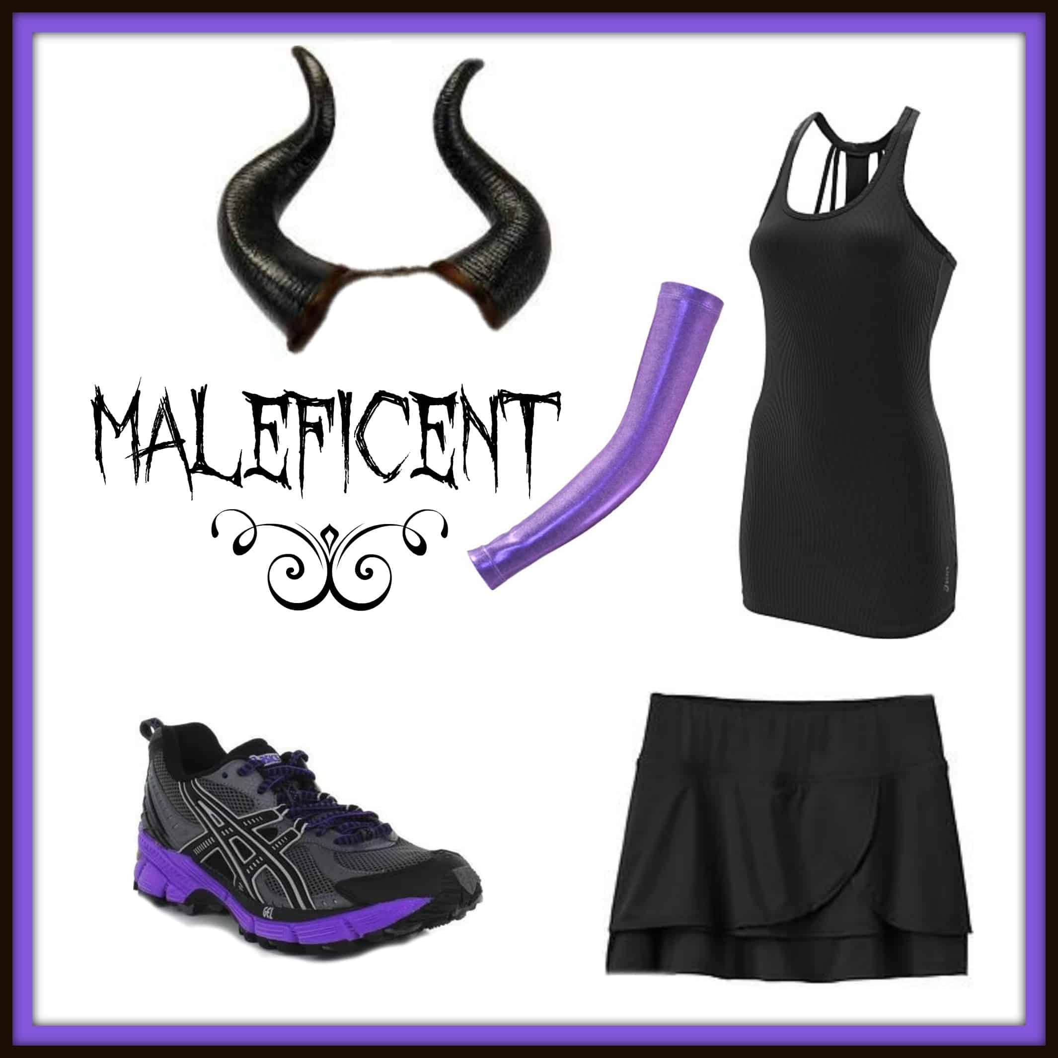 Maleficent running costume