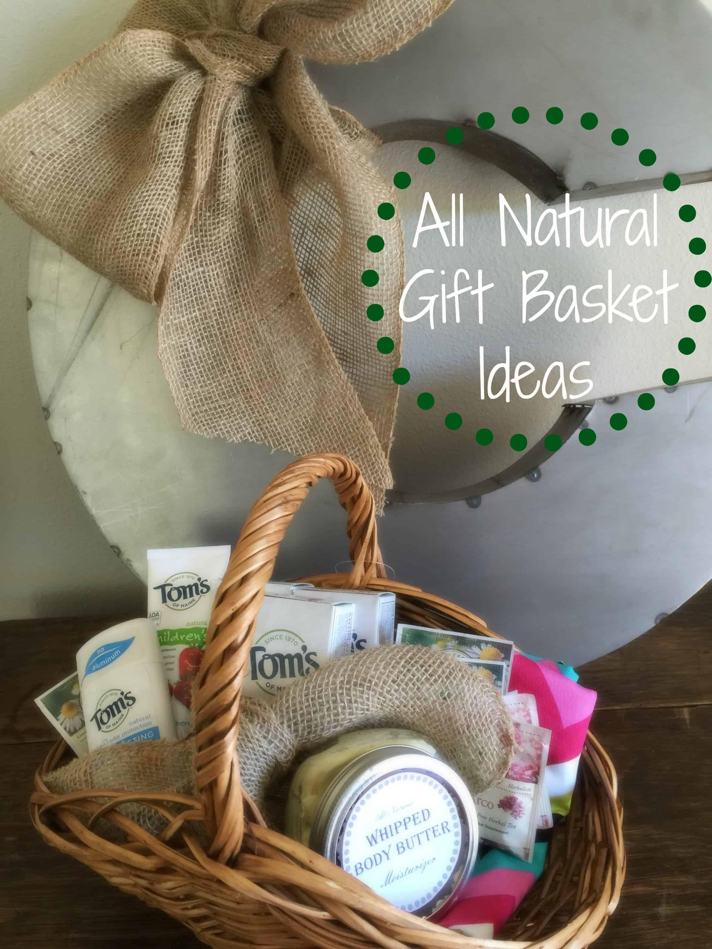 all natural gift basket