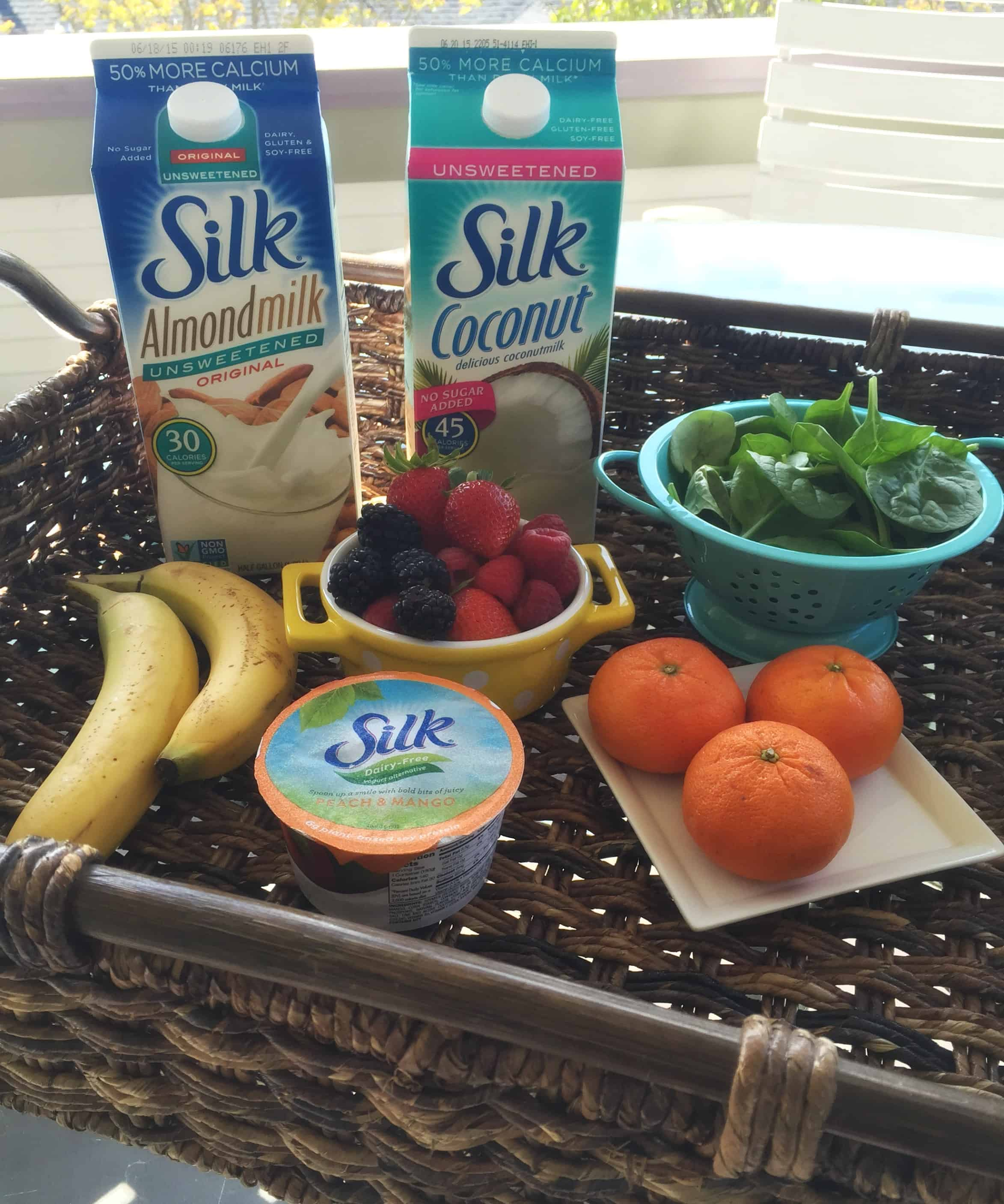 silk smoothie tray