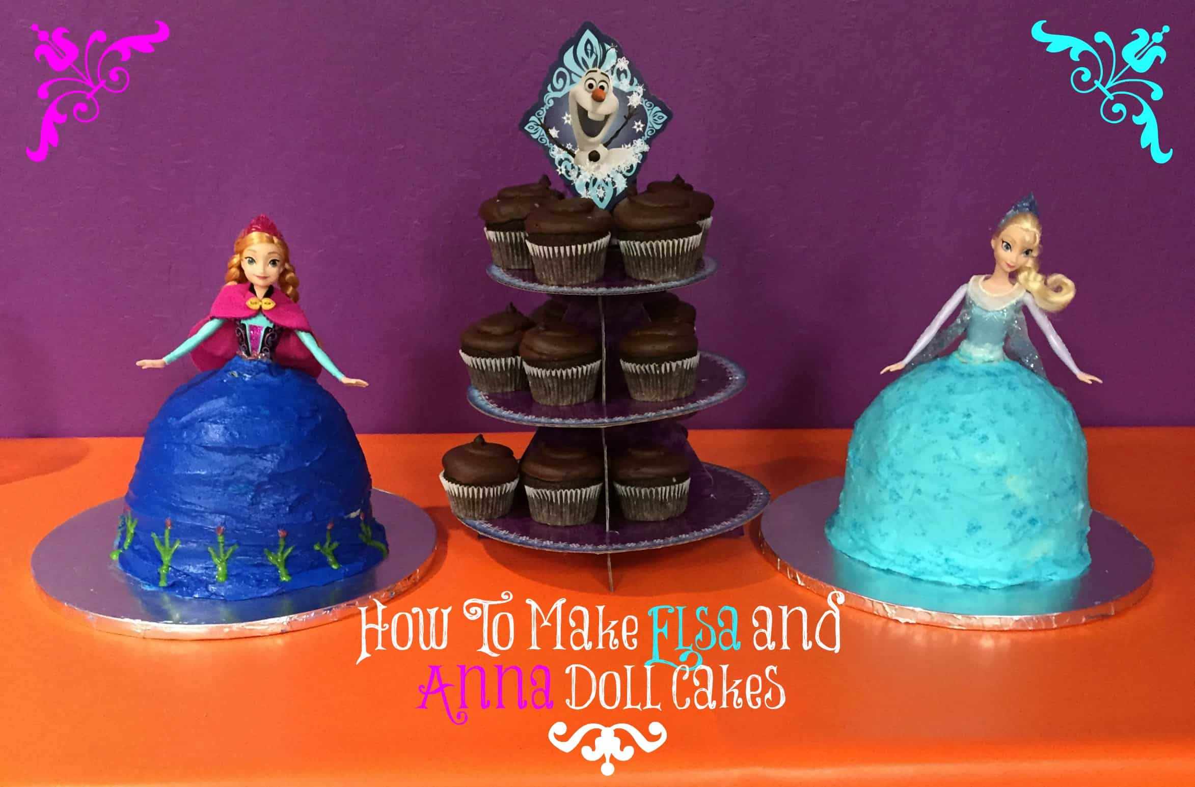 how_to_Elsa_Anna_Frozen_cake