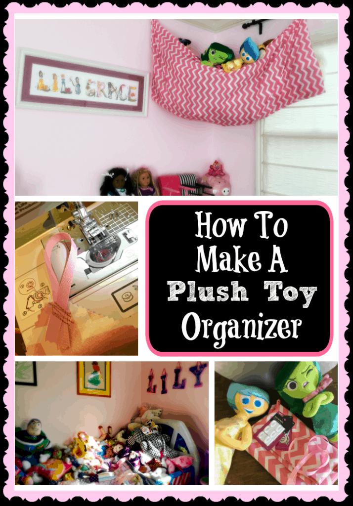 How To Make A Plush Toy Organizer Half Crazy Mama