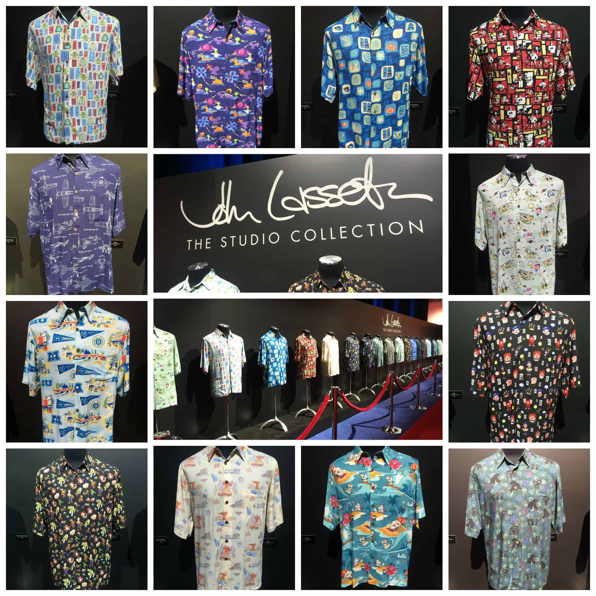 John lasseter 39 s studio hawaiian shirt collection half for John lasseter disney shirts