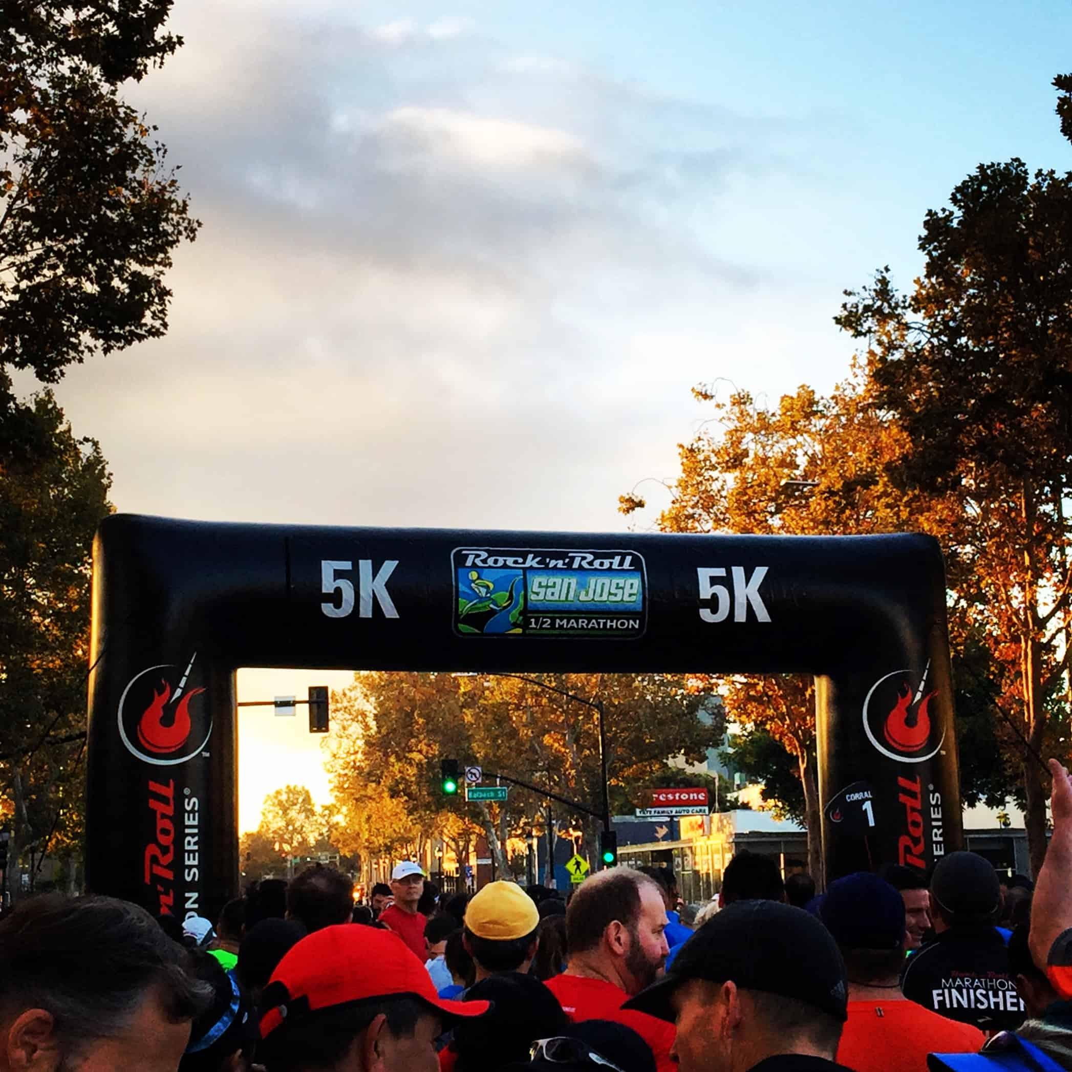 5k starting line