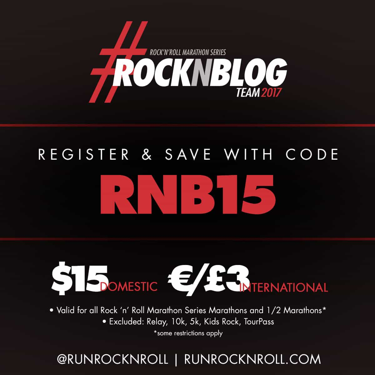 rock n roll discount code