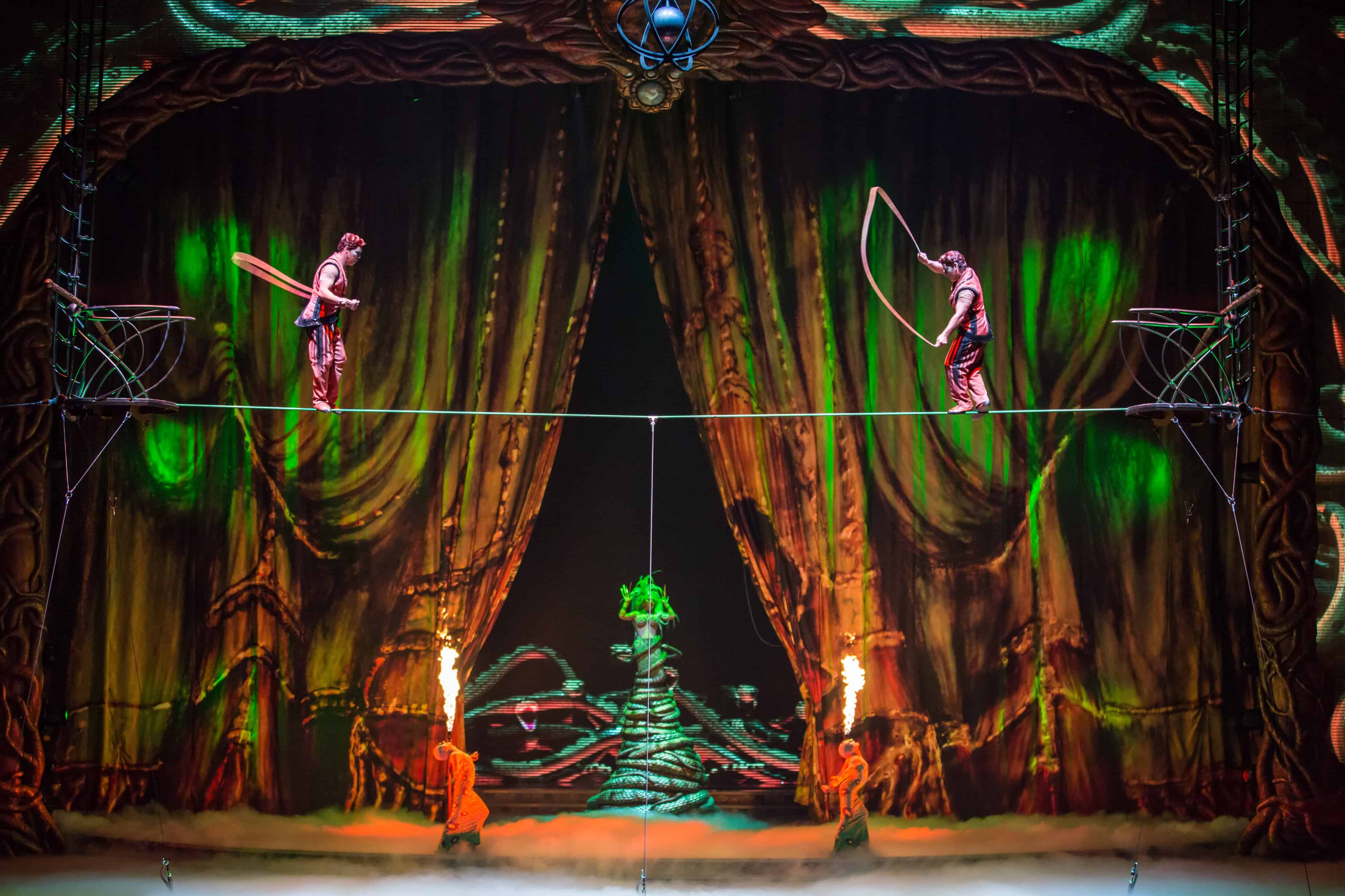 Cirque Du Soleil Zarkana At Aria Las Vegas Review Travel With Half