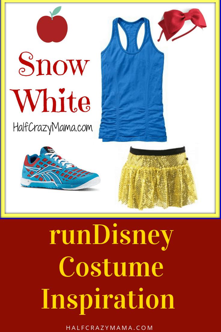 easy disney princess running costume ideas- part 1 • half crazy mama