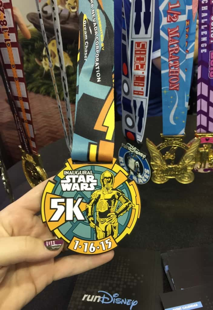 runDisney Star Wars Half Marathon Weekend Medals Revealed ...