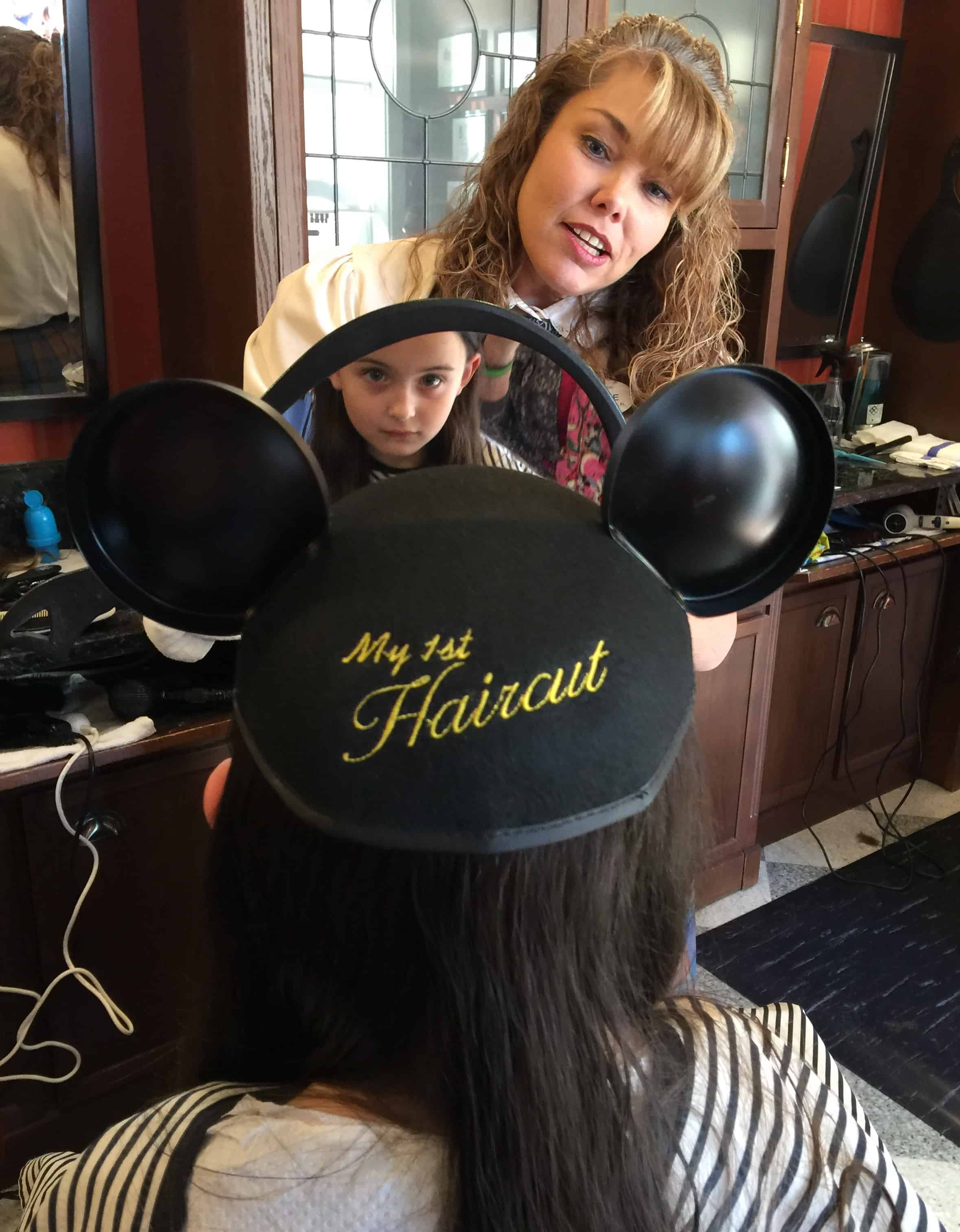 That Time My 6 Year Old Daughter Got Her First Haircut At Disney