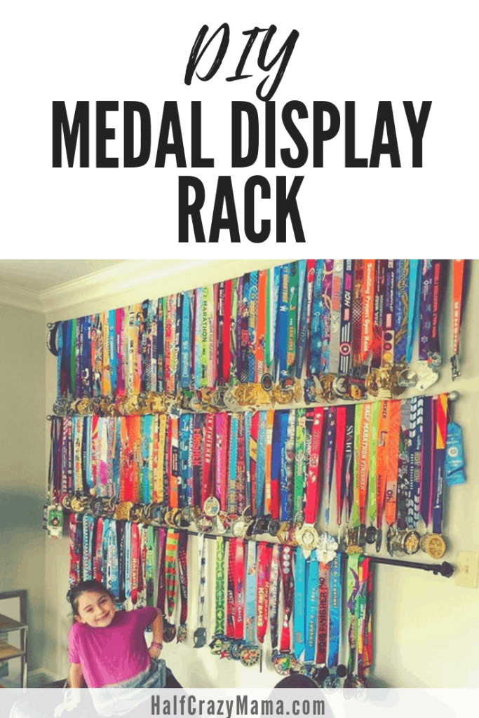 Medal Display Rack That Is Affordable Practical And Easy To Make